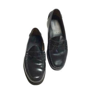 LL Bean Mens 13 47 EE Classic Penny Loafers Black